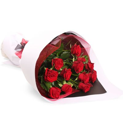 Send 12red roses bunch all over India